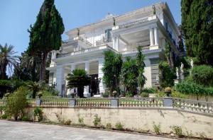 Korfu Akhilleion Sissi kastély