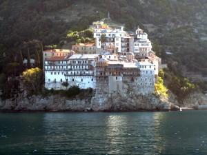 Athosz-hegyi kolostorok