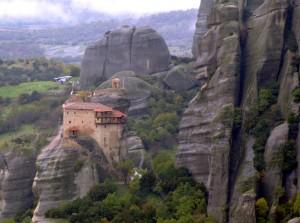 Meteora kolostor, világörökség