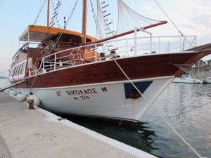 Neos Marmaras kalózhajó