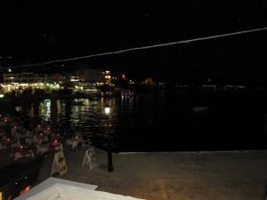 Neos Marmaras éjszaka