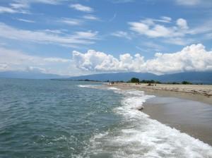 Görögország Olympic Beach tengerpartja