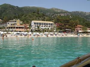 Korfu Paleokastritsa strand