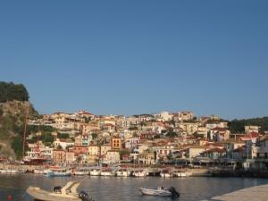 Görögország Parga városa