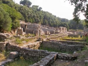 Albánia Butrint ókori görög város)