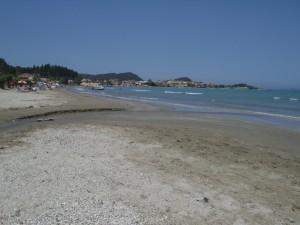 Sidari nagy strand