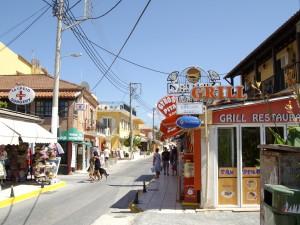Korfu Sidari város