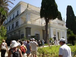 Achilleon Sissi kastély