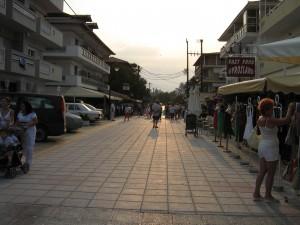 Olymposi Riviéra városi élet