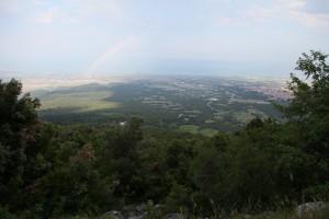 Olümposz-hegy látkép
