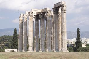 Athén Zeusz templom