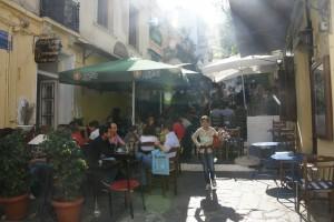 Athén belvárosa Plaka-negyed