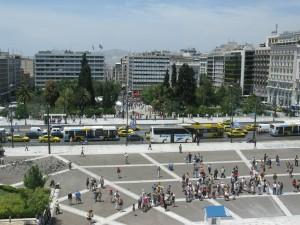 Görögország Athén, Syntagma tér