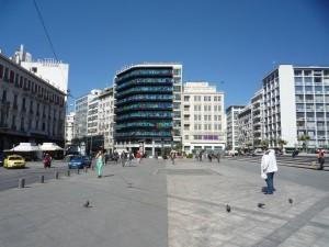 Athén Omonia tér