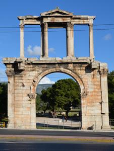 Athén Hadrianus diadalív
