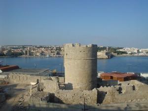Rodosz óváros torony