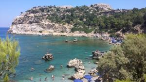 Rodosz Faliraki strand