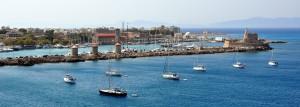 Rodoszi kikötő