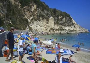 Lefkada, Agios Nikitas strand