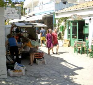 Agios Nikitas utcakép