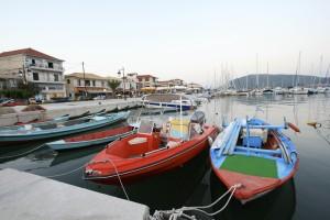 Lefkada kikötő