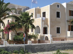 Görögország Santorini Kamari, Kostis apartman