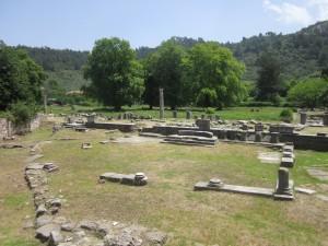 Thassos Limenas, romok
