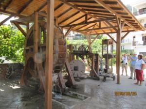 Thászosz Panagia olívaolaj gyár